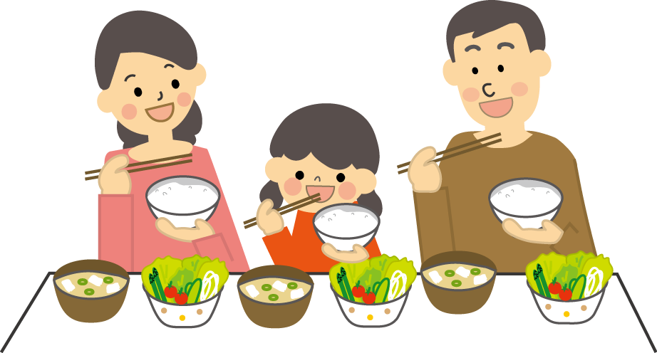 食卓 家族のイラスト素材 [6882761] - PIXTA