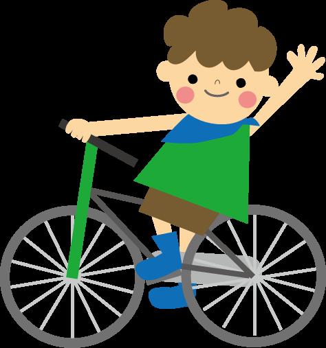 自転車の 自転車 素材 イラスト フリー : ... (無料イラスト)フリー素材