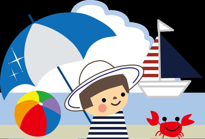 「夏休み イラスト 無料」の画像検索結果