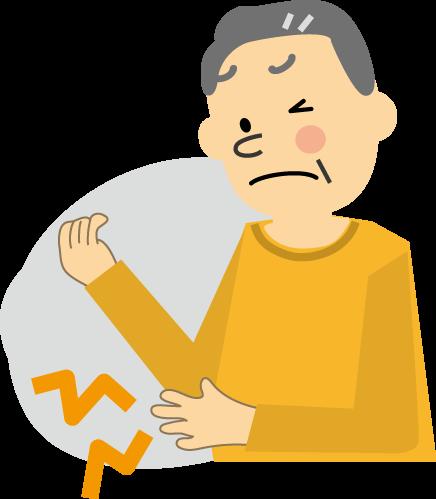 「肘 痛み イラスト」の画像検索結果