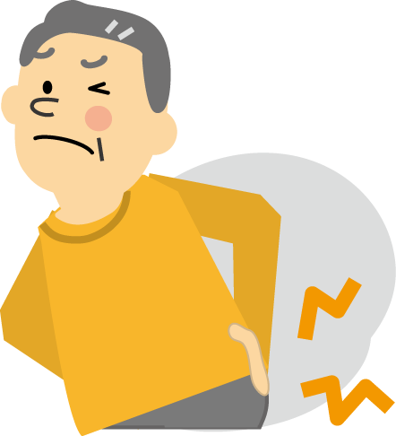 「肩こり腰痛フリー素材」の画像検索結果