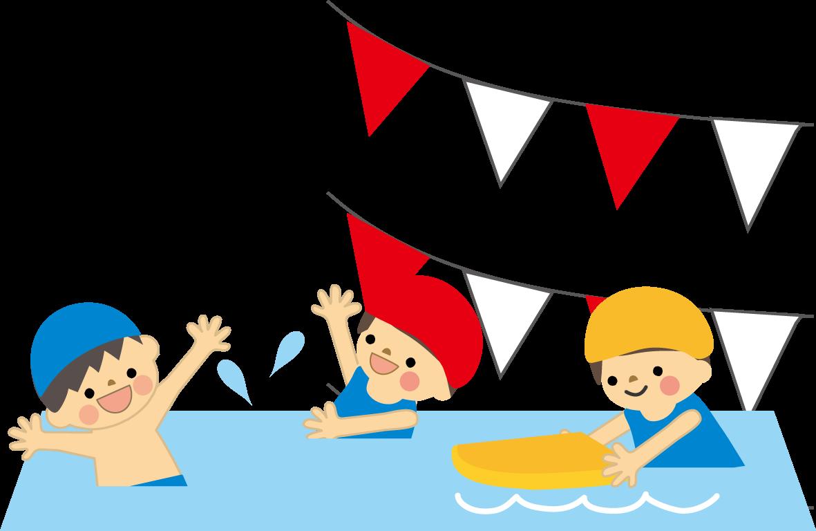 プール・水泳のイラスト・無料イラスト/フリー素材