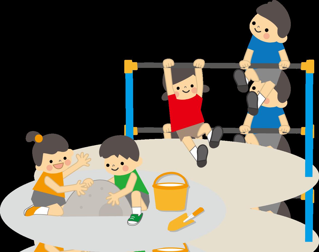 「子どもと遊ぶ フリーイラスト」の画像検索結果