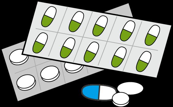 医療関係 病院 薬 のイラスト 無料イラスト フリー素材