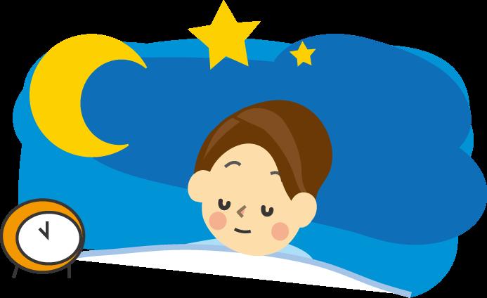 「睡眠フリー素材」の画像検索結果