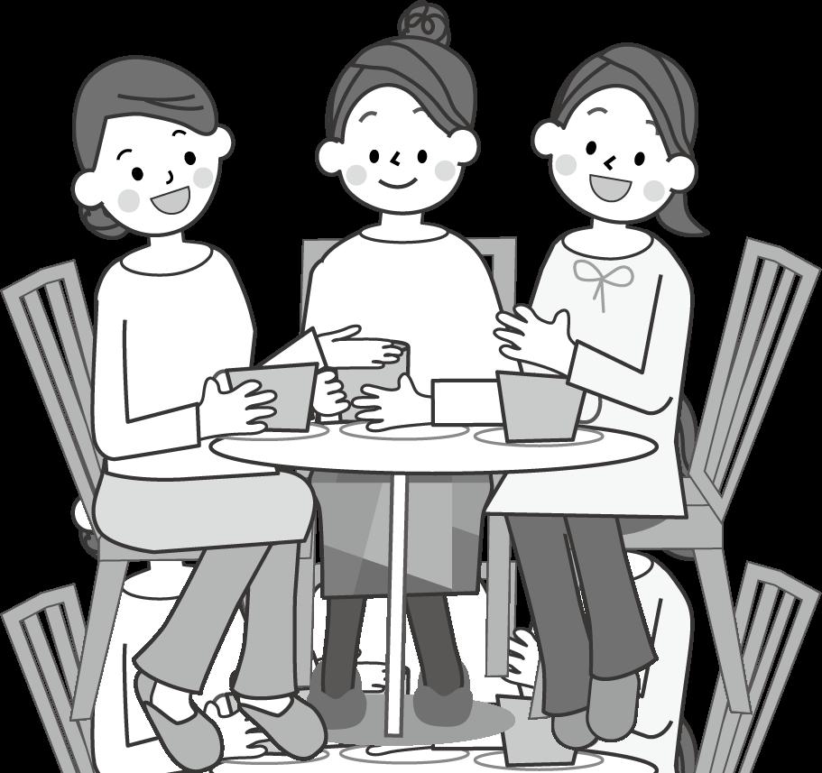 会話のイラスト/無料イラスト・フリー素材