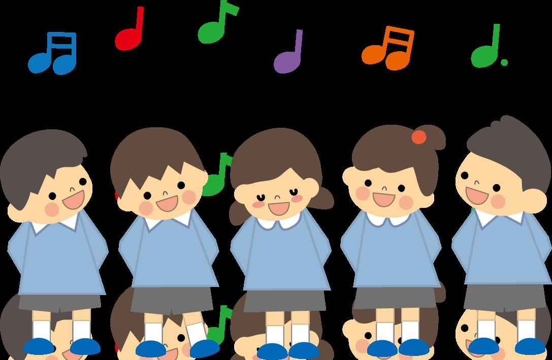 合唱(歌う)無料イラスト ... : 幼児 無料 プリント : プリント