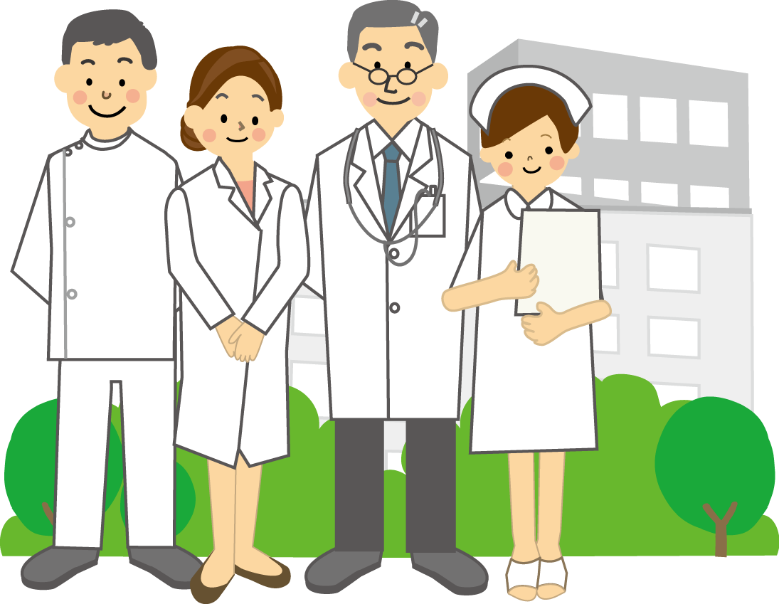 医療従事者のイラスト(医療関係)無料イラスト・フリー素材3