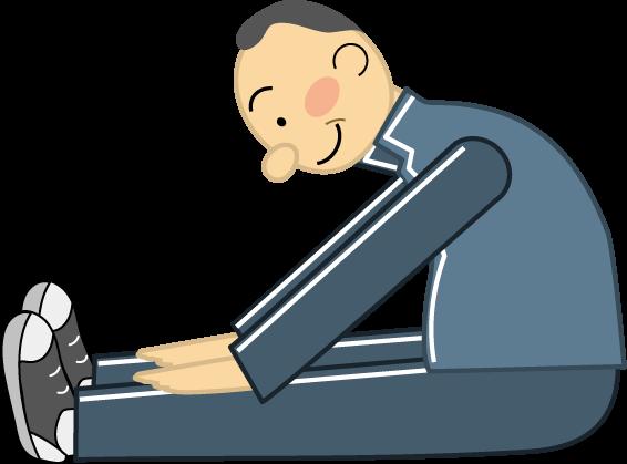 「腰痛体操 イラスト」の画像検索結果