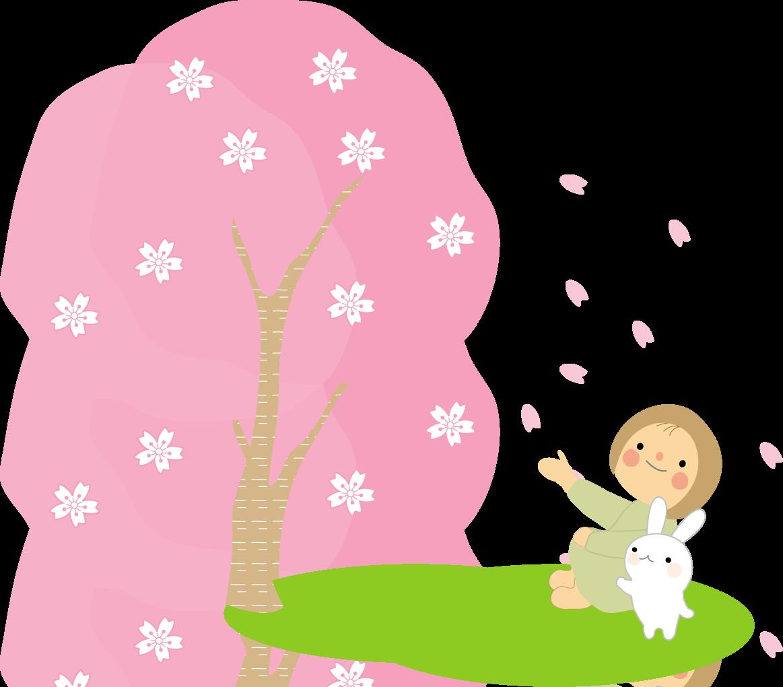 イラスト(春・秋)無料イラスト/フリー素材