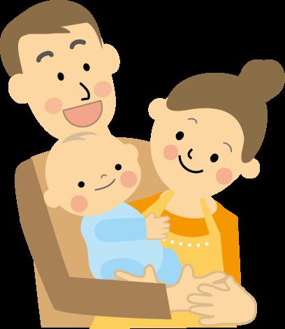 「夫婦 子ども イラスト」の画像検索結果